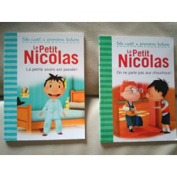 2 livres le Petit Nicolas
