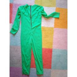 Combinaison déguisement verte