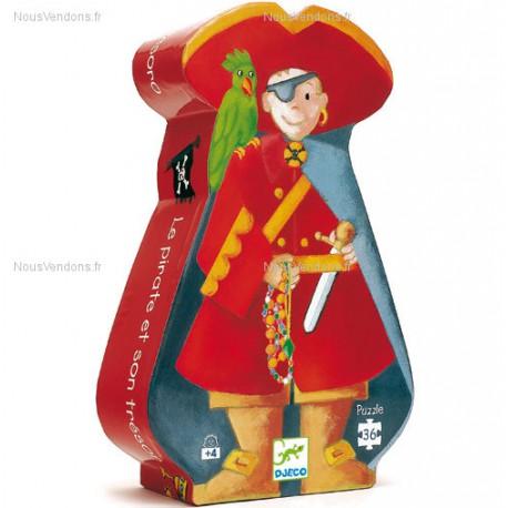 Djeco Le pirate et son trésor Puzzle 36 pcs (4+)