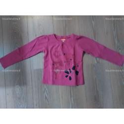 T-Shirt rose fushia brodé Marese (5ans)