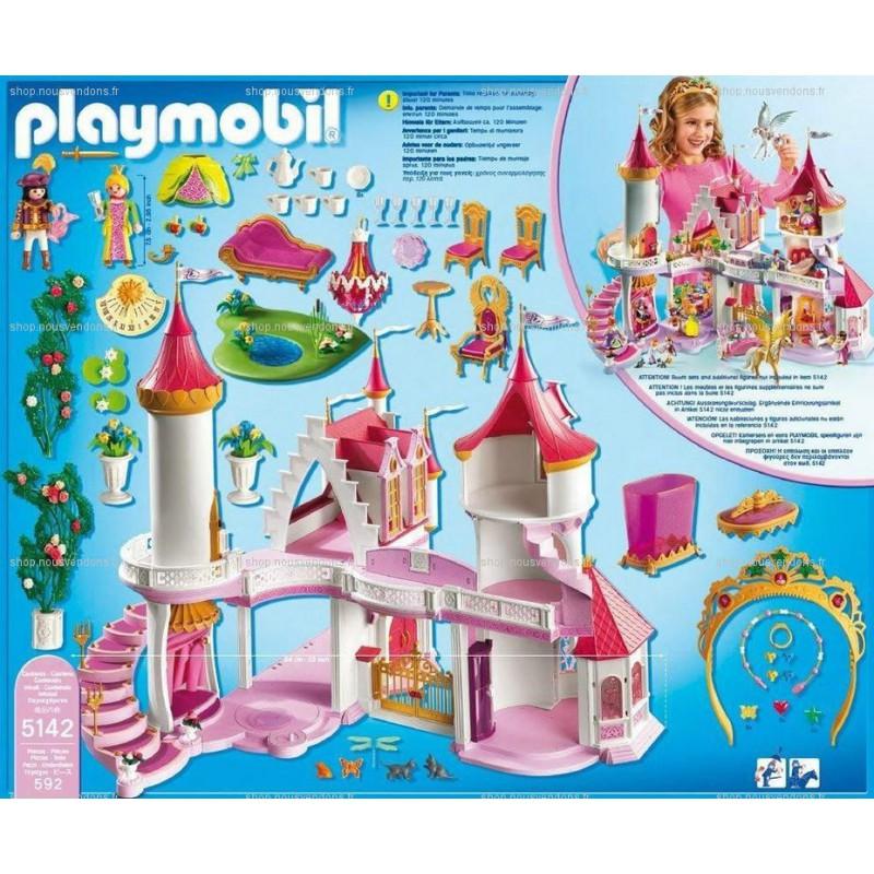 playmobil chateau princesse - www.empreintes-coiffure.fr