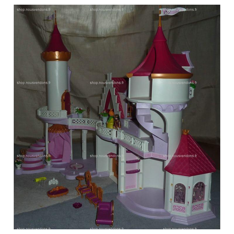 Palais de princesse playmobil ref 5142 f m la boutique for Chateau princesse playmobil 5142
