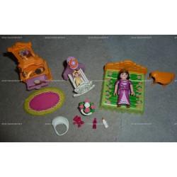 Chambre de la reine avec berceau (Playmobil, 5146)