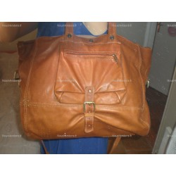 Sac XL en cuir marron