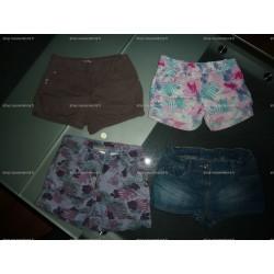 Lot 4 Shorts Fille