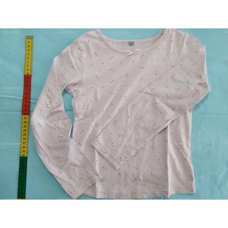 T-Shirt Manches Longues rose, 8 ans