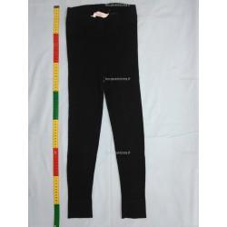Legging noir en maille collant, bas brillant, 8ans (H&M)