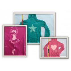 Pack 3 T-Shirts col roulé, motif, 8 ans