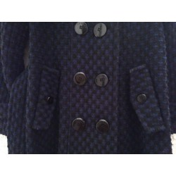 Manteau Laine Bleu (Morgan)