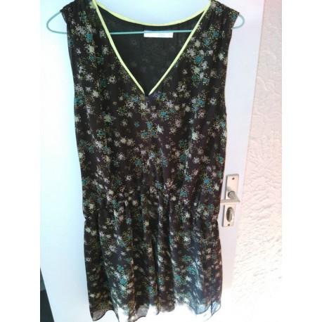 robe imprimée marron (See U Soon)