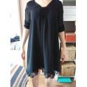 robe noire (H&M)