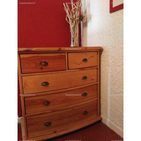 commode en pin f m la boutique. Black Bedroom Furniture Sets. Home Design Ideas
