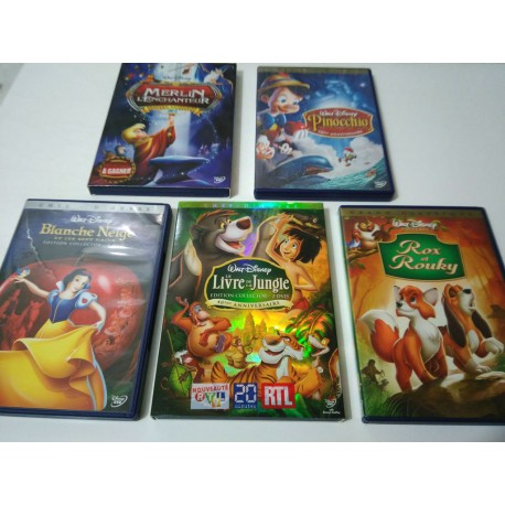 Lot dvd enfants Disney