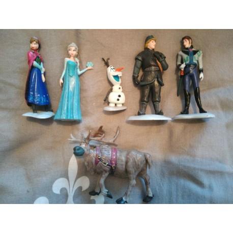 Figurines la reine des neiges