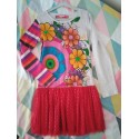 Lot 2 robes desigual 9/10 ans